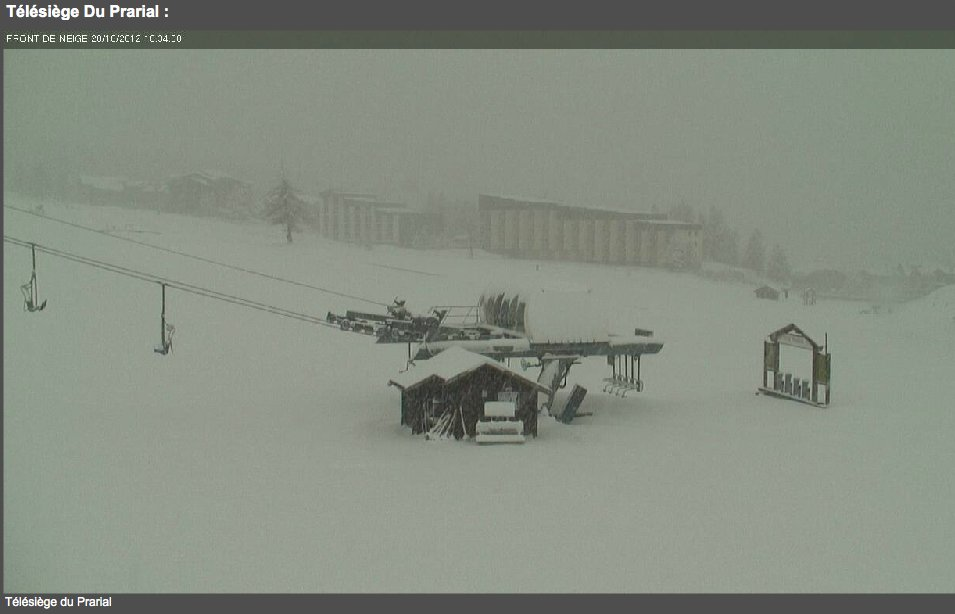 Montgenevre webcam Oct. 28. - ©Montgenevre