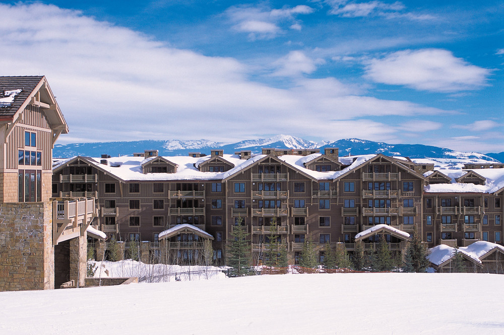 Ski in and ski out location.  - © Four Seasons Resort, Jackson Hole