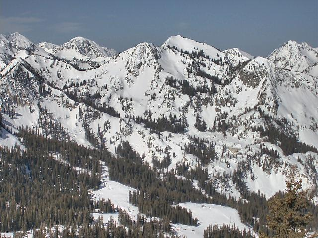 Brighton Resort in Big Cottonwood Canyon, Utah - © Brighton Resort
