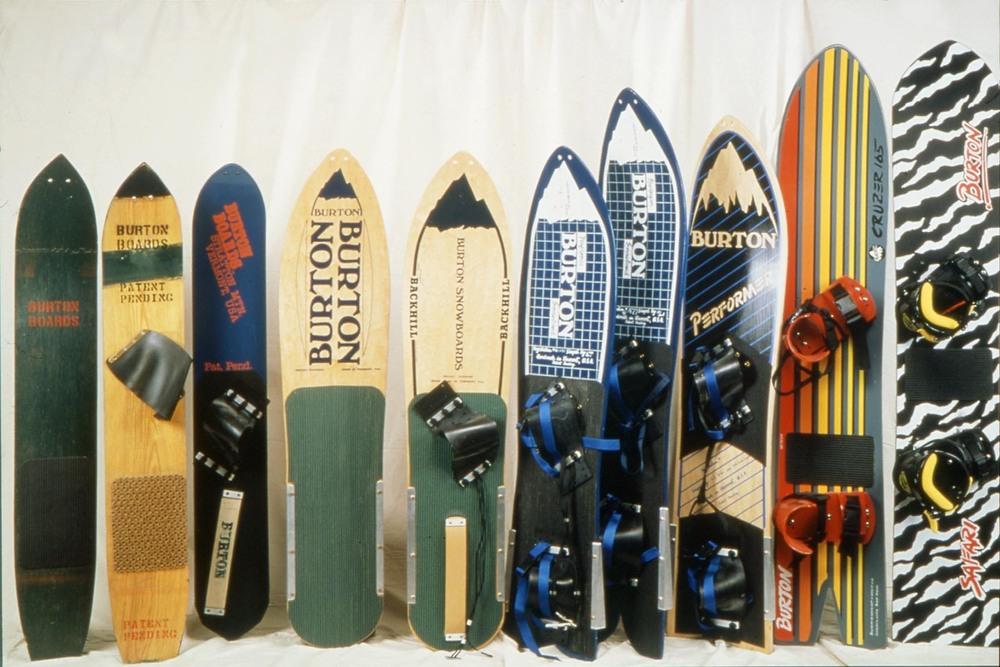 Burton snowboards - © The Burton Corporation