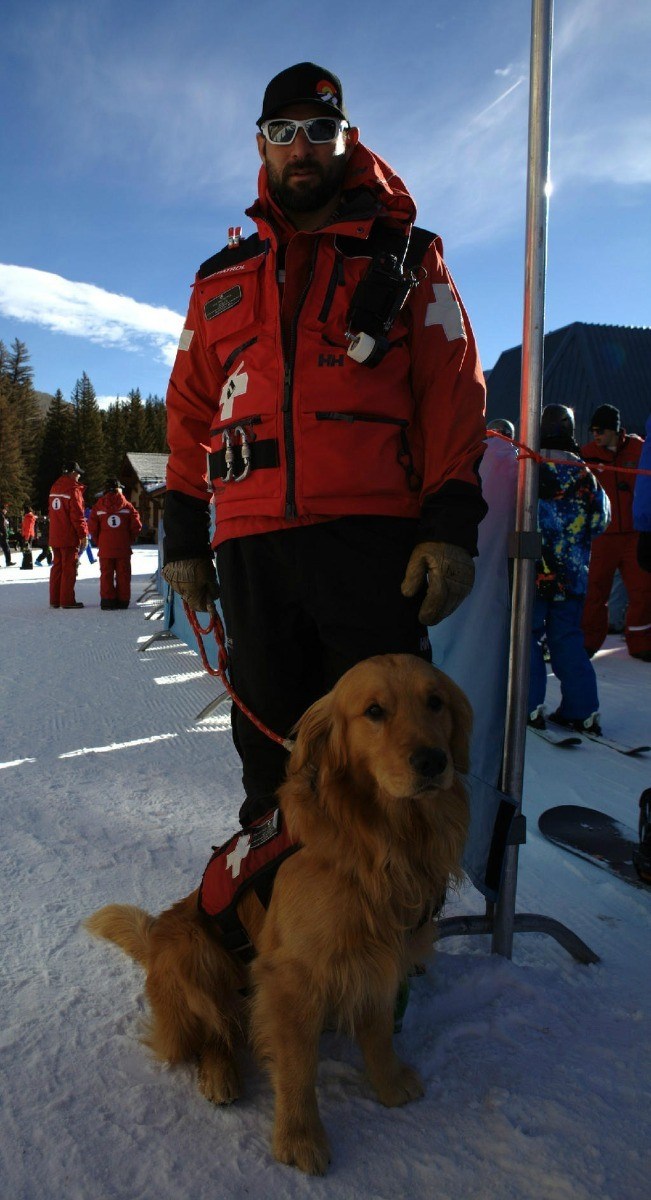 Ski Patrol is ready for opening day at Vail. - © Vail Mountain
