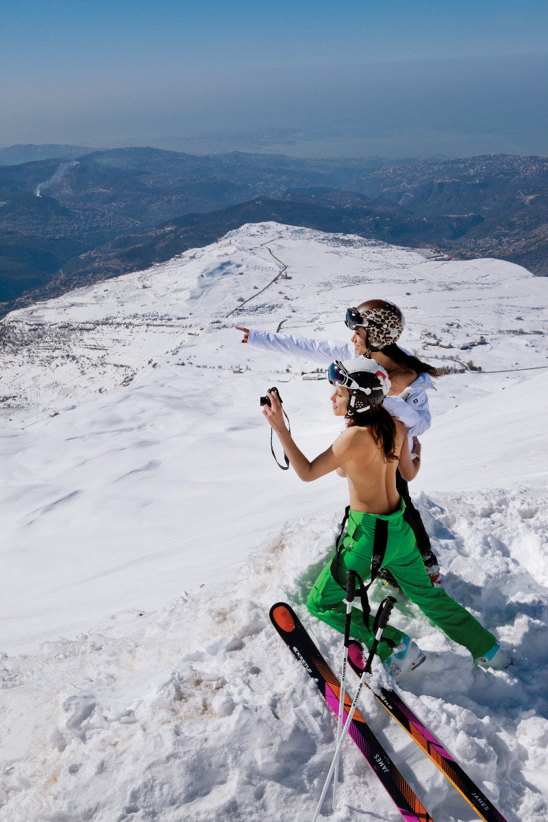 Skilehrerinnenkalender 2013 - © Hubertus von Hohenlohe/Florian Herzog