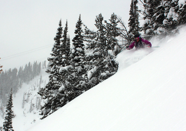 Jackson opened top-to-bottom this weekend.  - © Jackson Hole Mountain Resort
