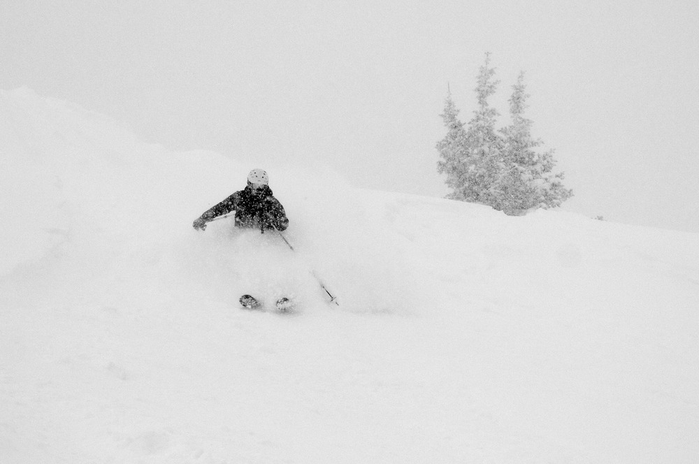 Eric Rasmussen at Wolf Creek on Dec. 15, 2012. - © Josh Cooley