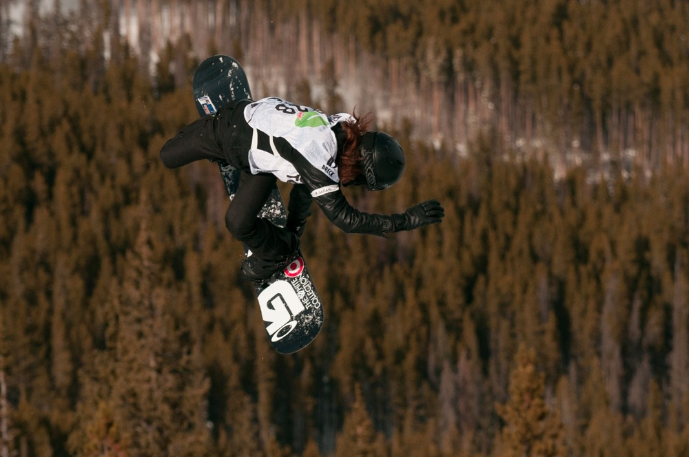 Snowboarding icon Shaun White dominated the superpipe once again with a winning score of 95.25 in the Dew Tour iON Mountain Championships in Breckenridge. - © Josh Cooley