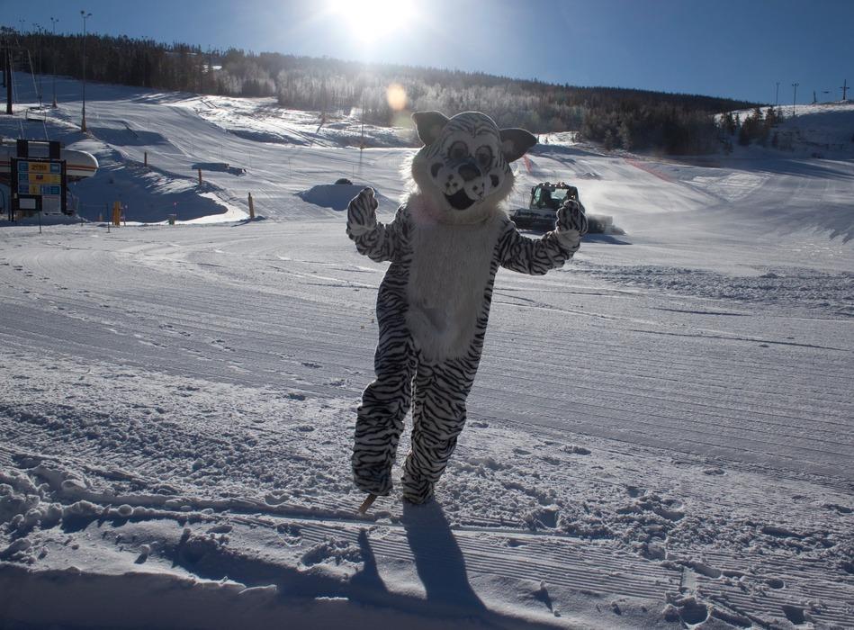 Ski Granby Ranch mascot. - © Ski Granby Ranch