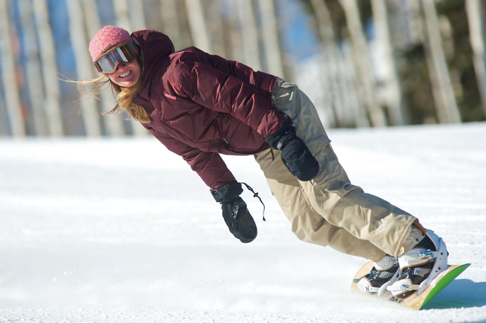 Learning to snowboard at Canyons Resort - © Courtesy of Canyons Resort; Photographer, Rob Bossi