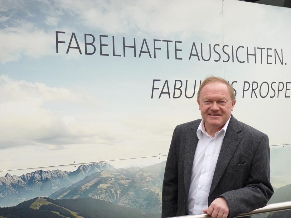 Dr. Erich Egger, Vorstand der Schmittenhöhenbahn - © Friederike Ostermeyer