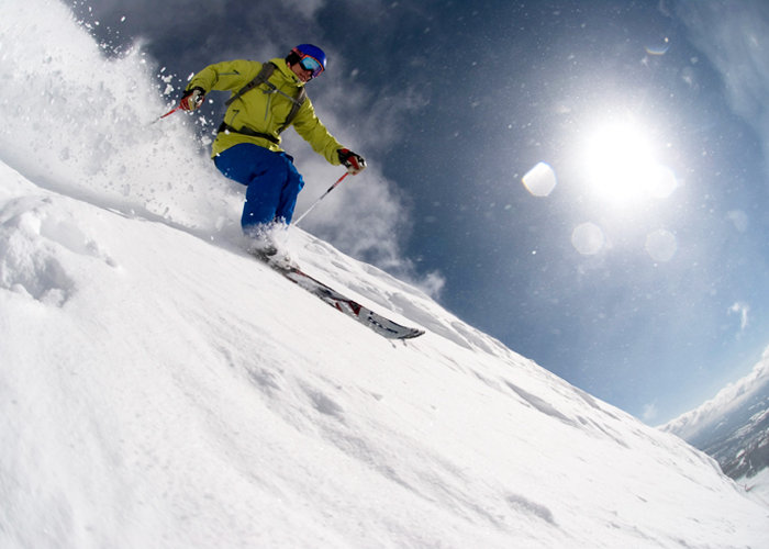 Big Sky boasts the Biggest Skiing in America. - © Bob Allen