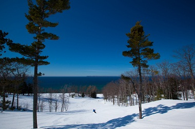 Ski Hill View - © The Homestead