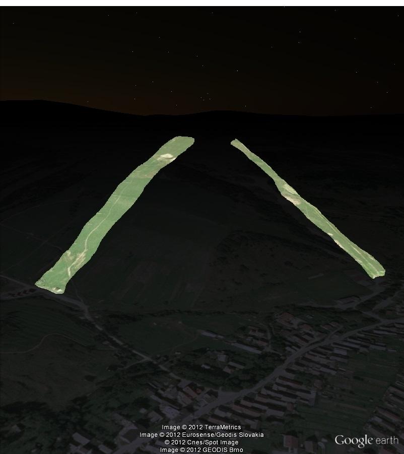Zuberec/Janovky - © Google Earth