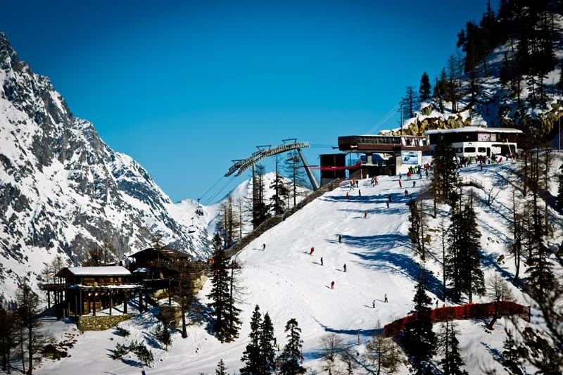 Courmayeur, skiarea