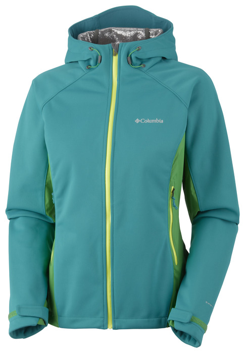 A trifecta of tech, Columbia's Triteca Softshell jacket includes a trio of Omni-Heat, Omni-Wind Block and Omni-Wick EVAP all in one package. Available in men's and women's editions. - © Columbia Sportswear