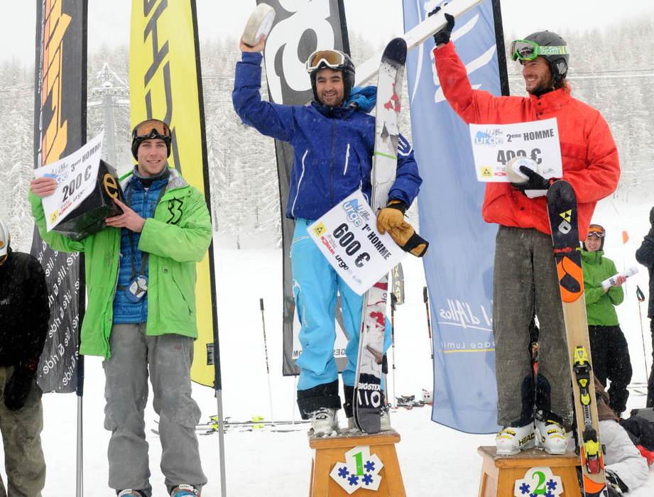 Podium du Val d'Allos Urge Enduro Ski 2013 - © Tribesportgroup / OT de Val d'Allos