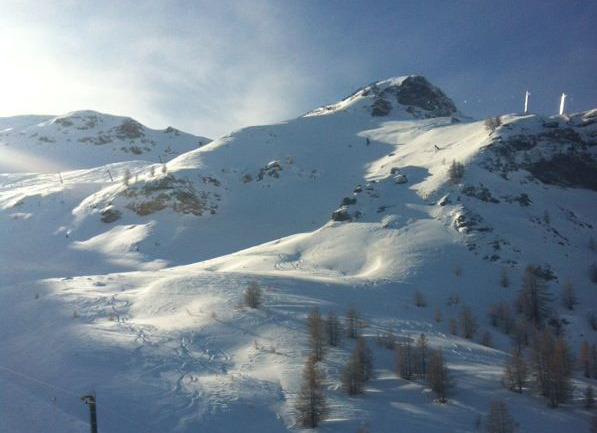 Sestriere, Via Lattea, Piemonte - Fresh snow Jan. 23 2013 - © G. Balaclava