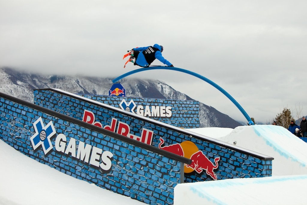 Nick Goepper. Slopestyle Elims - © Jeremy Swanson