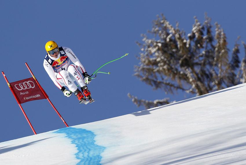 Georg Streitberger landete auf Rang acht - © Agence Zoom / Alexis Boichard