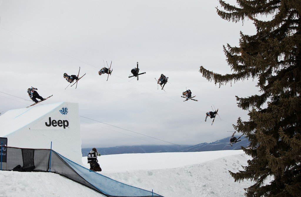 James Wood. Winner of Friday's Ski Slopestyle elimination round - © Jeremy Swanson