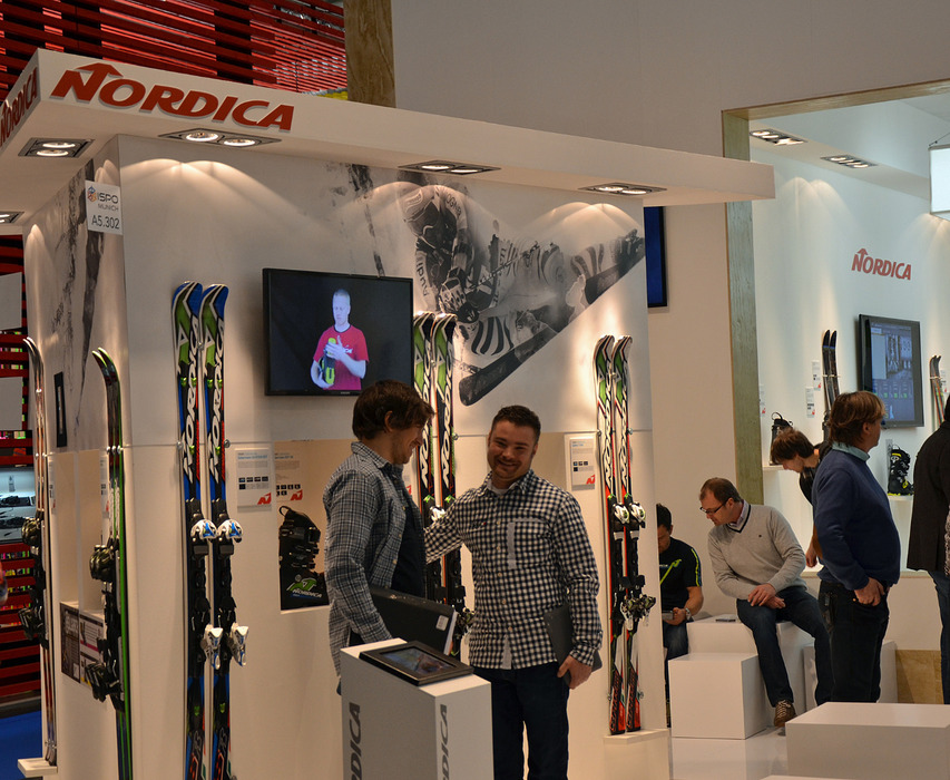 Nordica at ISPO 2013 - © Skiinfo