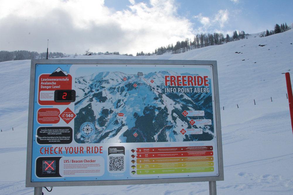 Freeride Hotspots Austria - Ski Amade Region - © Henning Heilmann