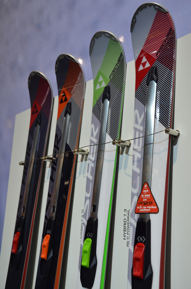 2nd generation of Fischer's Hybrid - © Skiinfo