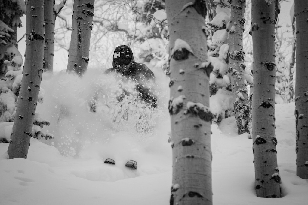 The tree skiing at Steamboat is legendary. - © Liam Doran