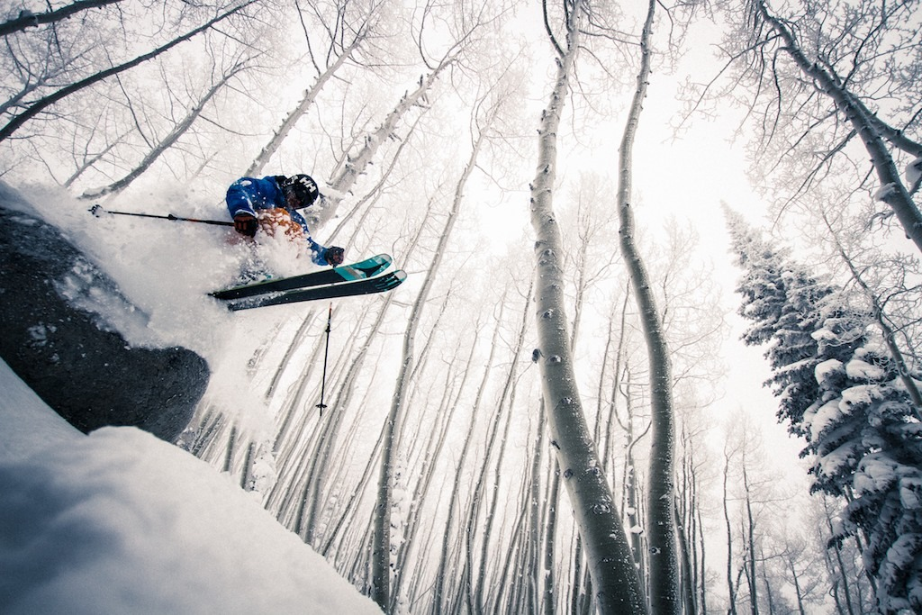 Powder, pillows and great tree skiing keep local skier Mike Maroney around season after season. - © Liam Doran