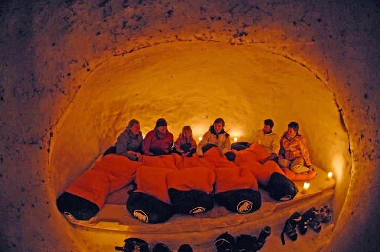 Group iglo, Engelberg - © Engelberg-Titlis Tourismus AG
