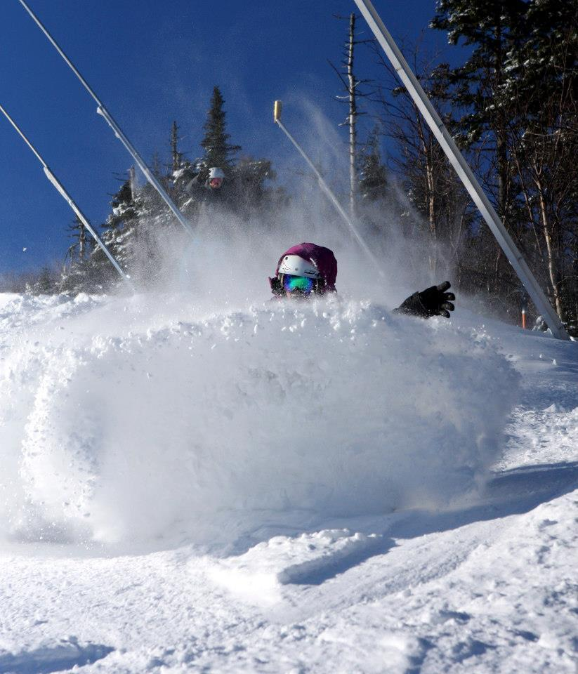 Face shots this weekend at Sugarloaf. - ©Sugarloaf/Facebook