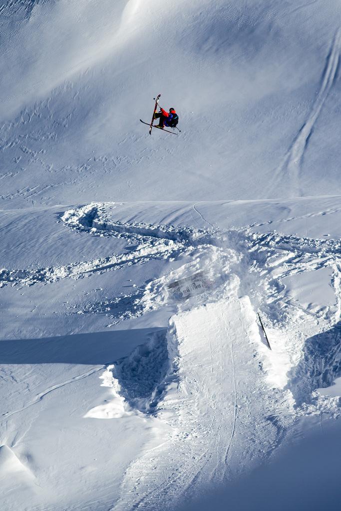 Sam Favret. - © J.Bernard/swatchskierscup.com