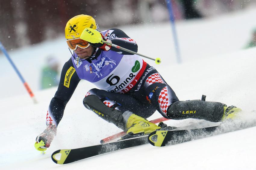 Für Ivica Kostelic blieb nur der fünfte Platz - © Alain Grosclaude/Agence Zoom