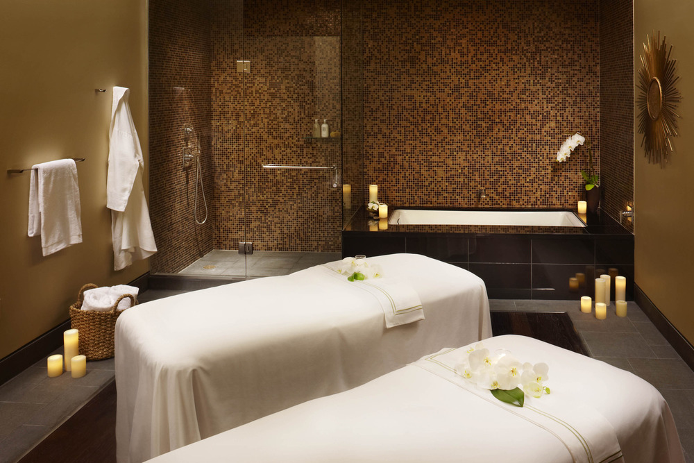 Viceroy Snowmass' wellness center provides a host of holistic spa treatments. - © Viceroy Snowmass