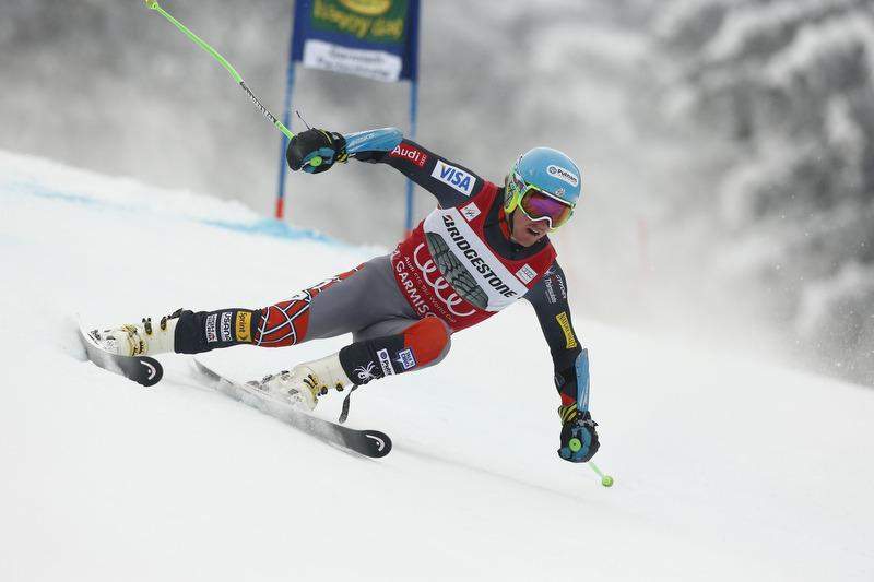 In Garmisch nicht fehlerfrei: Dreifach-Weltmeister Ligety wurde 'nur' Dritter - © Hook Baderz/AGENCE ZOOM