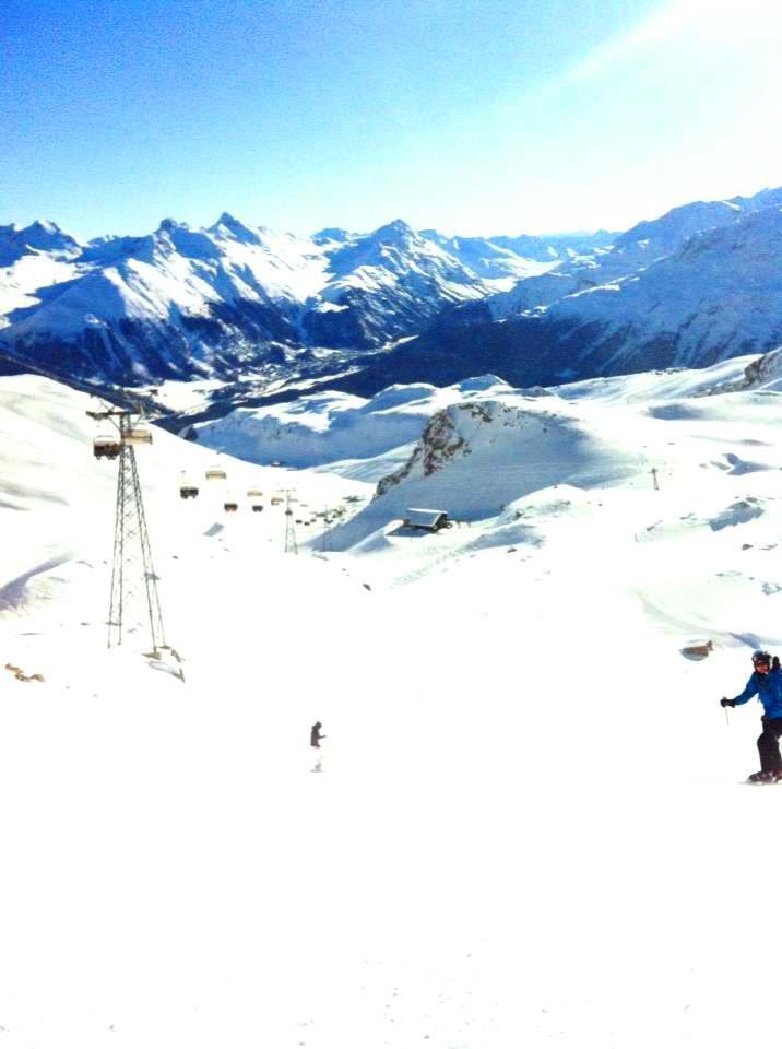 Skigebiet Corviglia - St. Moritz - © Engadin St. Moritz