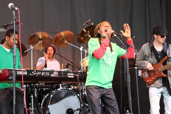Park City reggae band Patwa entertained a large crowd at Canyons Resort during its 2011 Spring Gruv. - © Justin Olsen