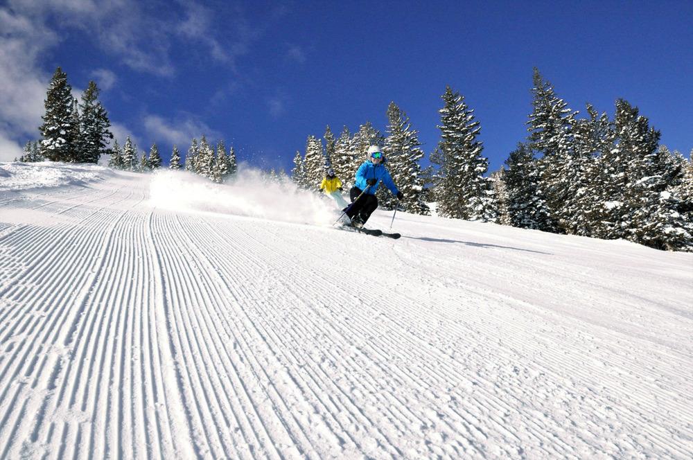 Les joies de la glisse sur les pistes de ski du Granier
