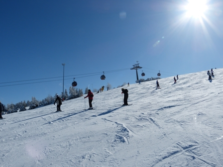 Sonnenskilauf - © Skigebiet Willingen