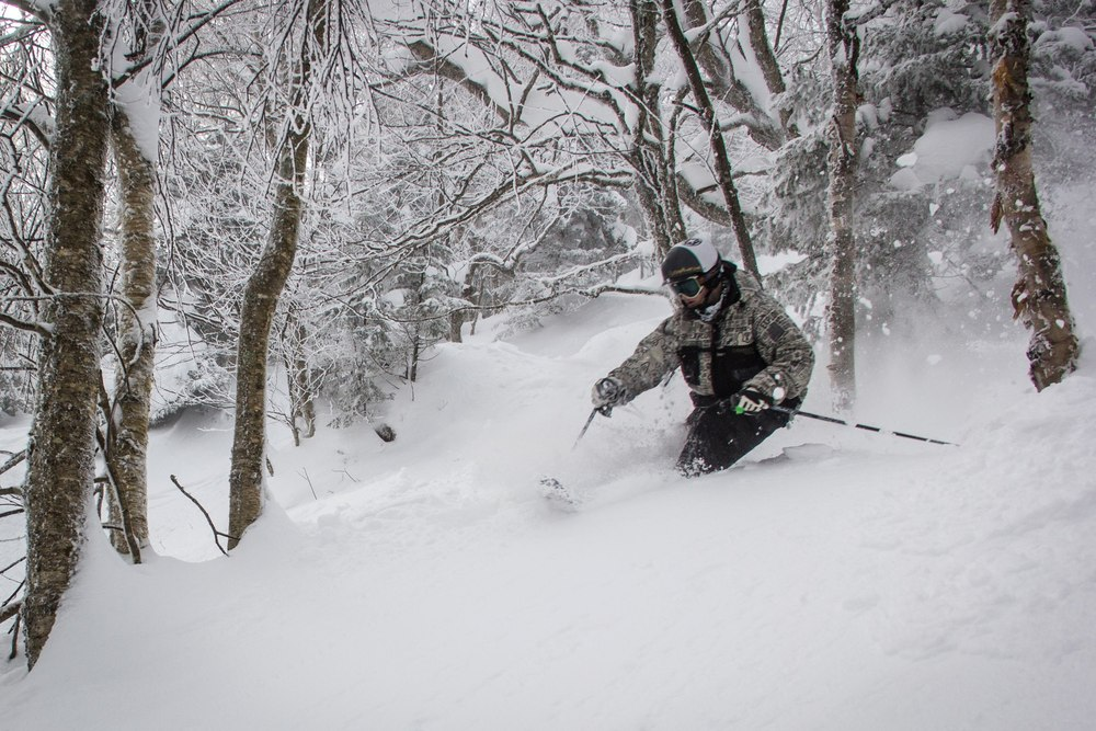 Northern resorts, like Jay Peak, were some of the only resorts to receive significant fresh snow over the past week. - © OpenSnow.com