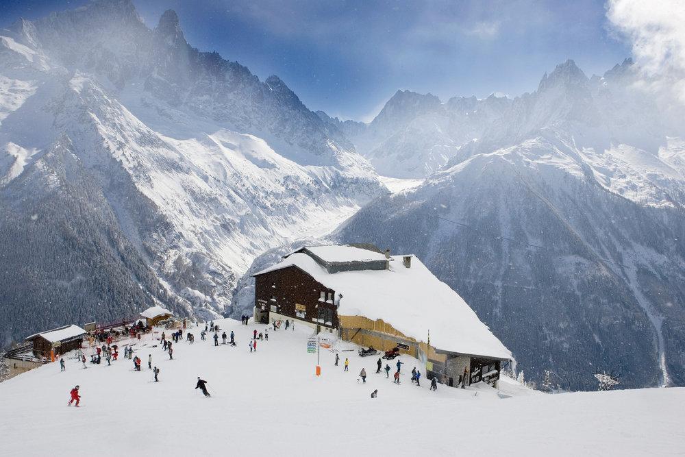 Skigebiet Chamonix - © M. Dalmasso