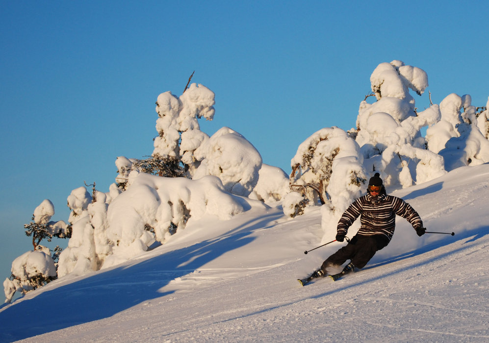 May skiing in Ruka, Finland - © Ruka Tourism