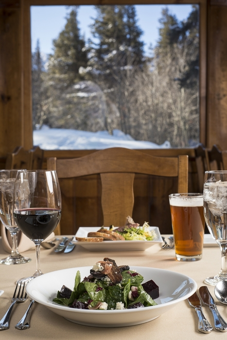 The Lakefront at Mammoth Mountain is a Once-in-a-Ski-Trip Dining Experience. - © Mammoth Mountain