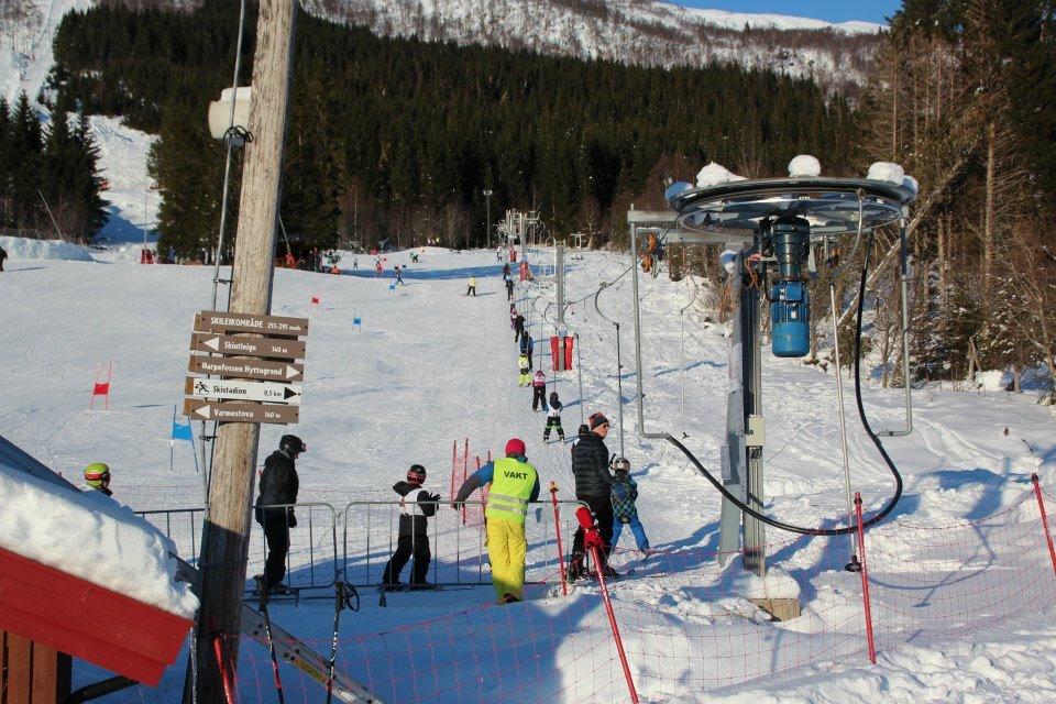 Harpefossen Skisenter 2013 - © Harpefossen