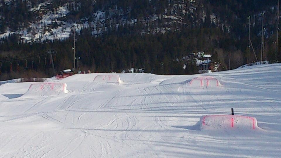 Lifjell Skisenter 2013 - Terrengpark
