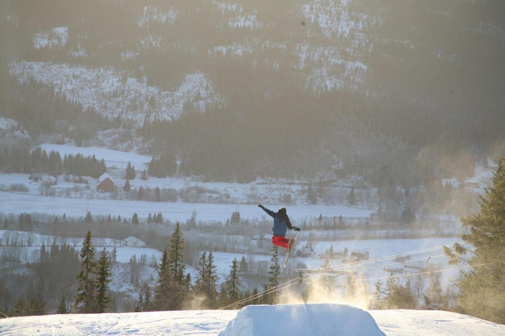 Meråker skisenter - Big jump