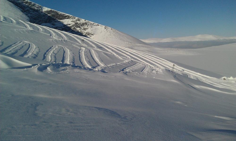 Galdhøpiggen Juvass Sommerskisenter - Februar 2013