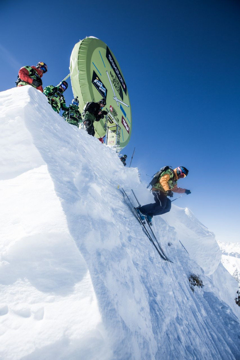 Freeride World Tour 2013 - Fieberbrunn (AUT) - © freerideworldtour.com / IBernard