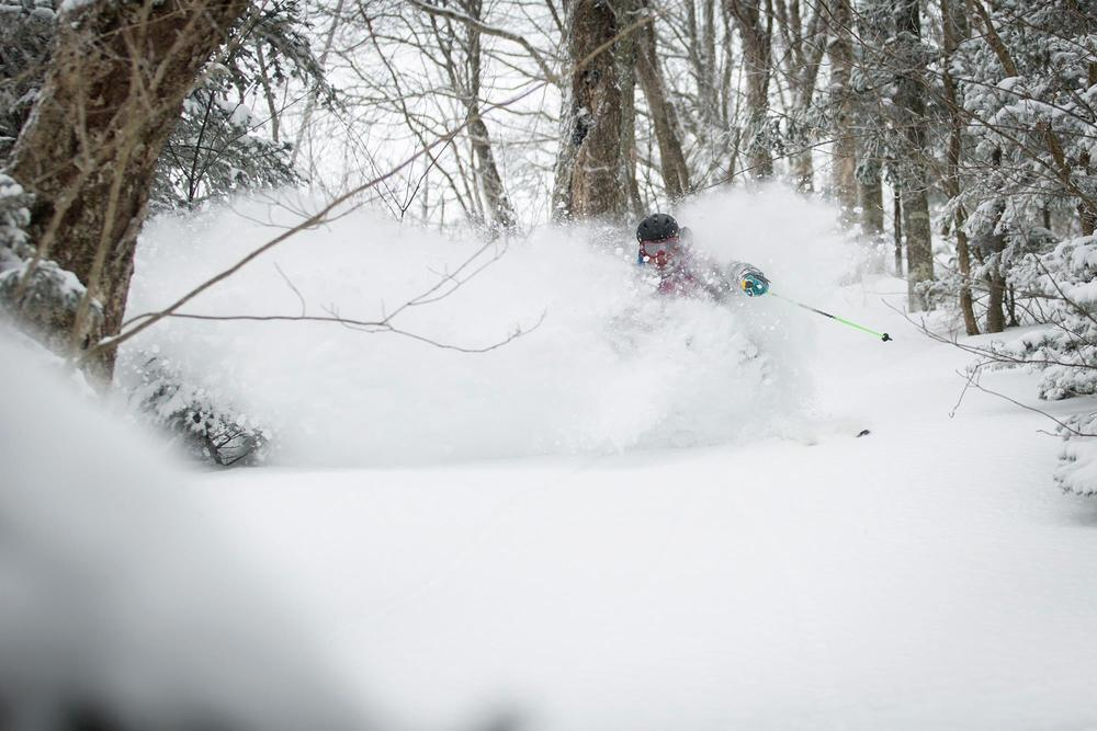 The snow at Killington is deep, thanks to Winter Storm Ukko. - © Killington
