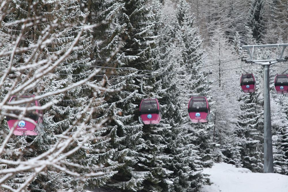 Die Grubgsteinbahn bringt euch schnell ins Skigebiet - © Skiinfo.de