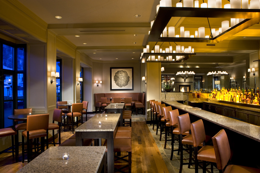 Park Hyatt Beaver Creek bar. - © Park Hyatt Beaver Creek Resort & Spa