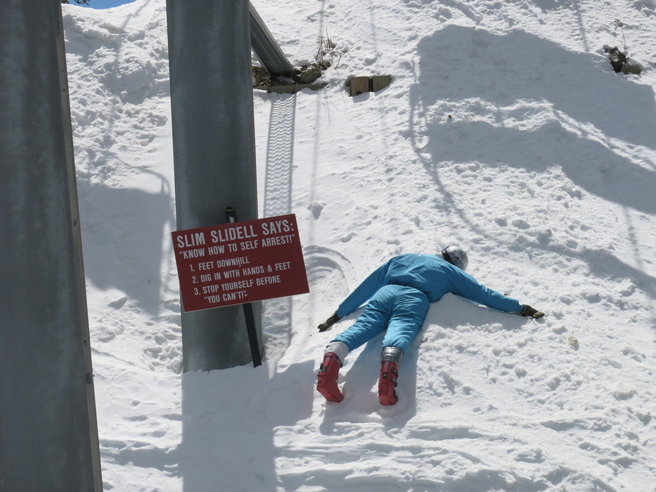 A warning from Taos Ski Valley. - ©Donny O'Neill